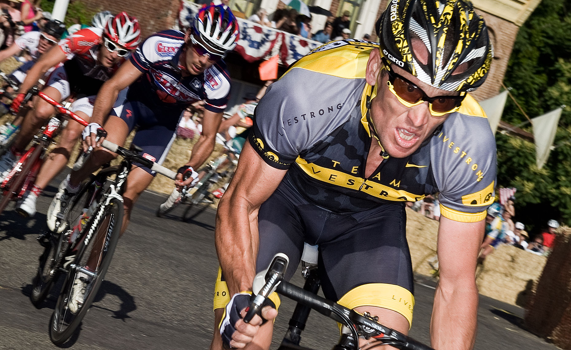 Lance Armstrong Nevada City Photo