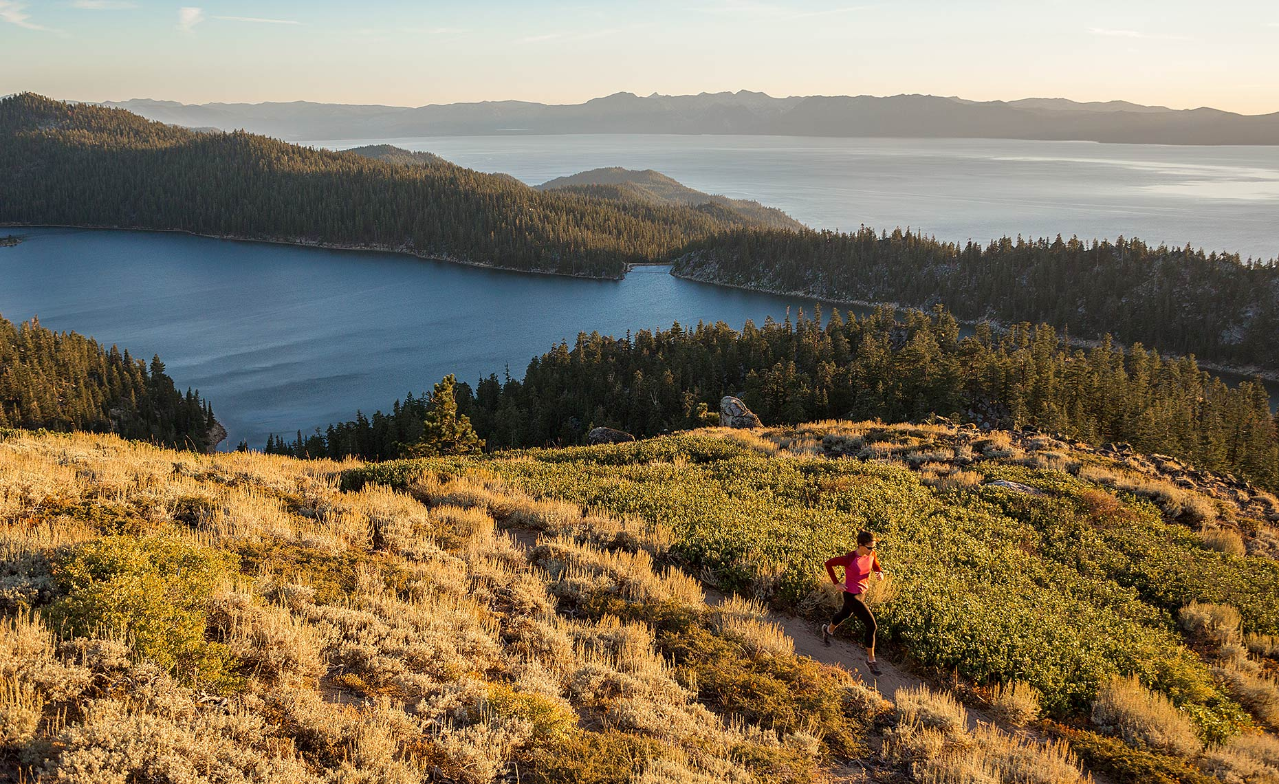 Lake Tahoe Trail Running Photo