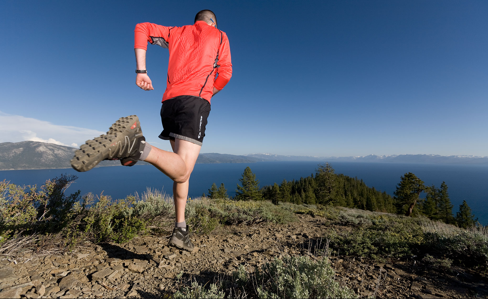 Lake Tahoe Running Photographer