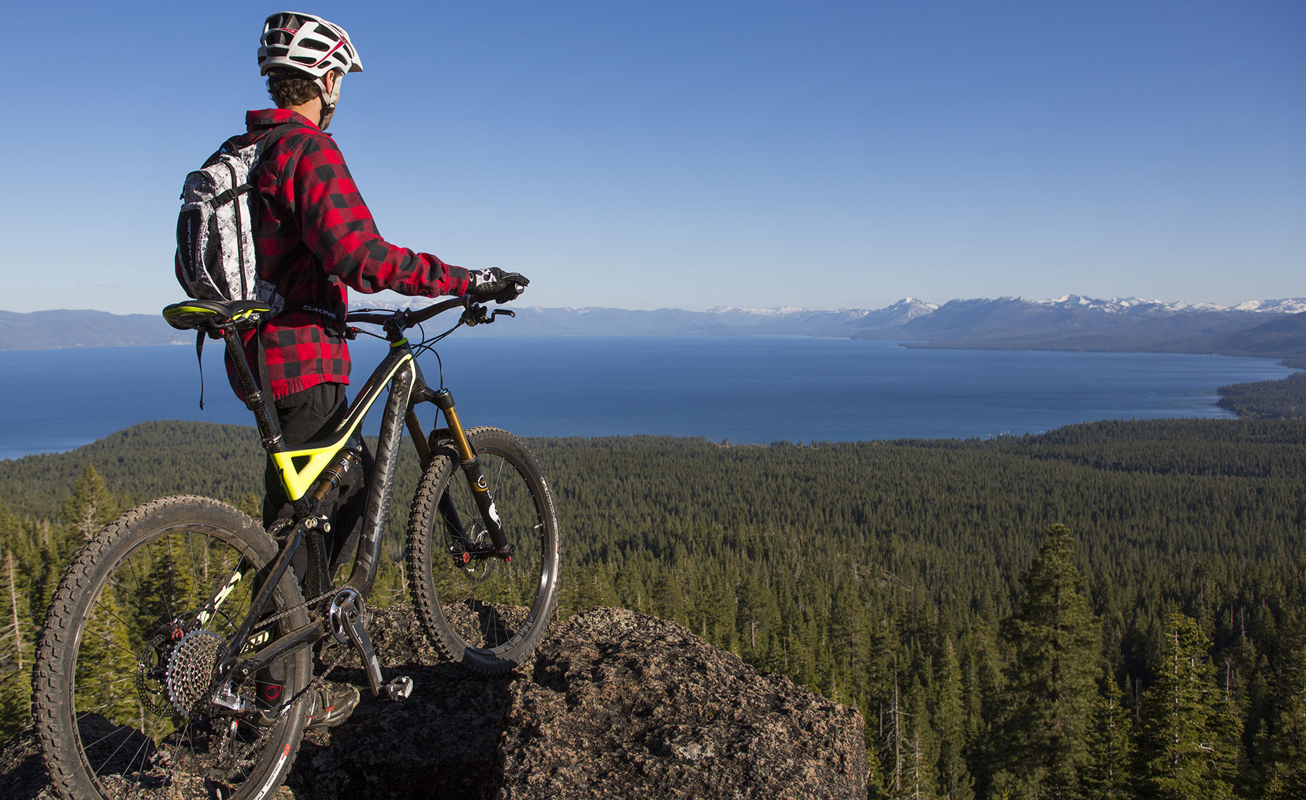 Lake Tahoe Mountain Bike Photographer