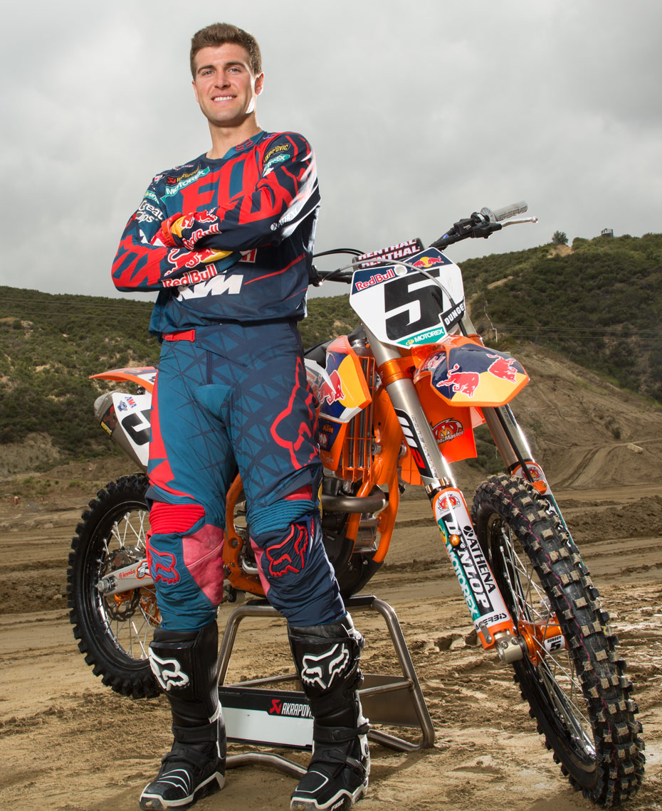 Ryan Dungey Wheaties Photography Glen Helen California